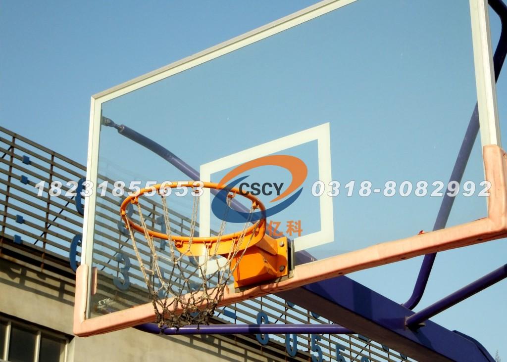 河北亿科公司篮球场地