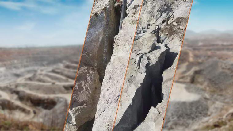 云南矿山开采用二氧化碳致裂器,二氧化碳致裂器也称为二氧化碳爆破管用于开山裂岩。